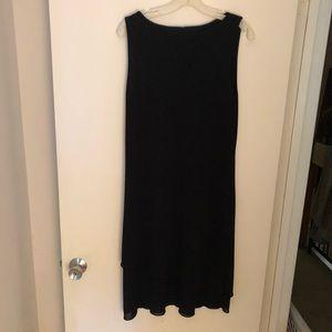 Little black dress by Benetton.